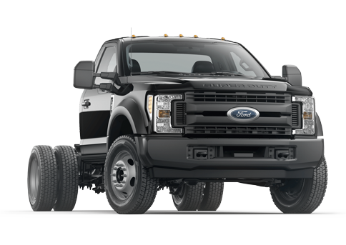 New Ford F-550SD in
