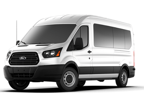 New Ford Transit-350 in