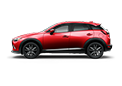 New Mazda CX-3 in