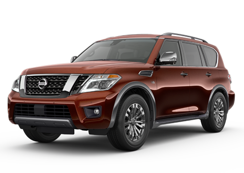 New Nissan Armada in
